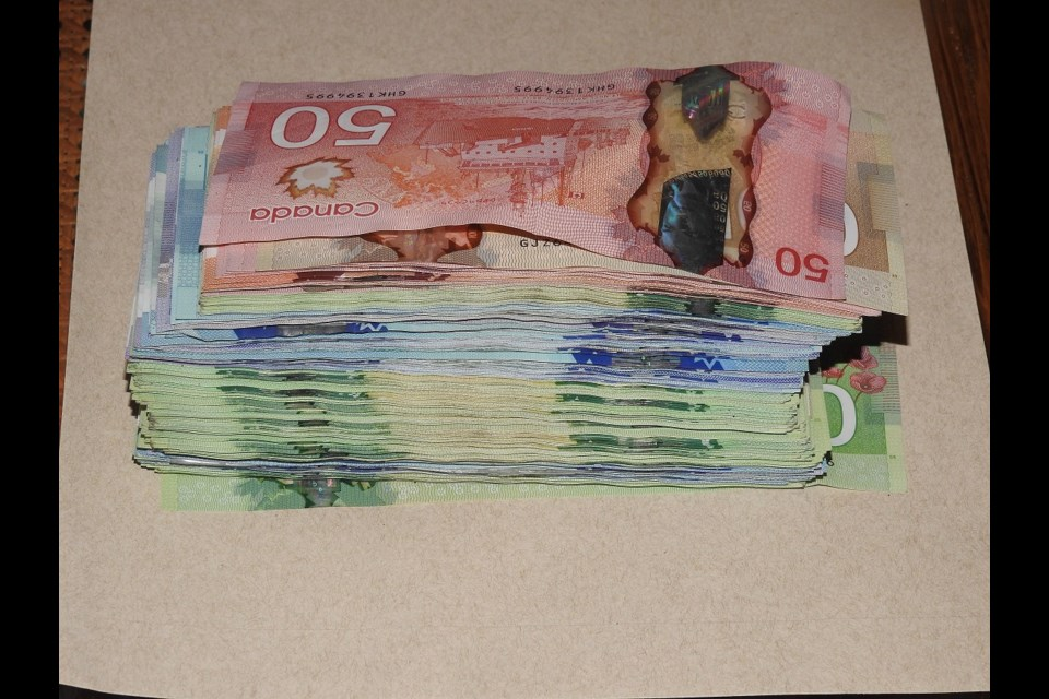 City police seized cocaine and fentanyl following the search of a southside home Tuesday evening.