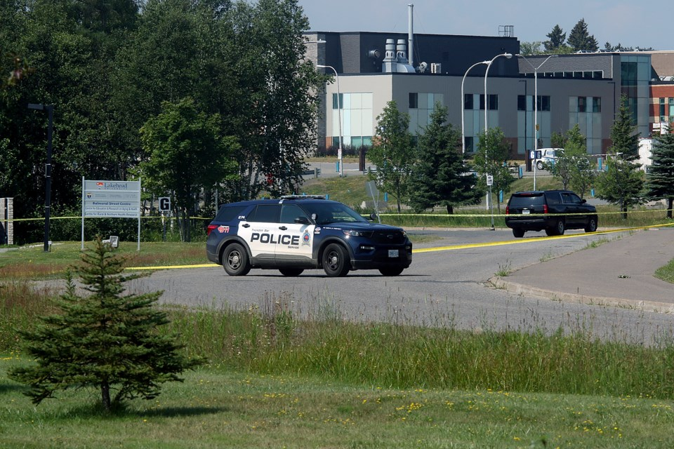 Police at Lakehead