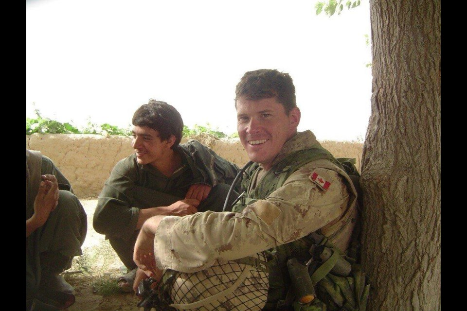 Robin Rickards of Thunder Bay, who served three tours of duty in Afghanistan, has worked to help Afghans find safety in Canada (submitted photo)