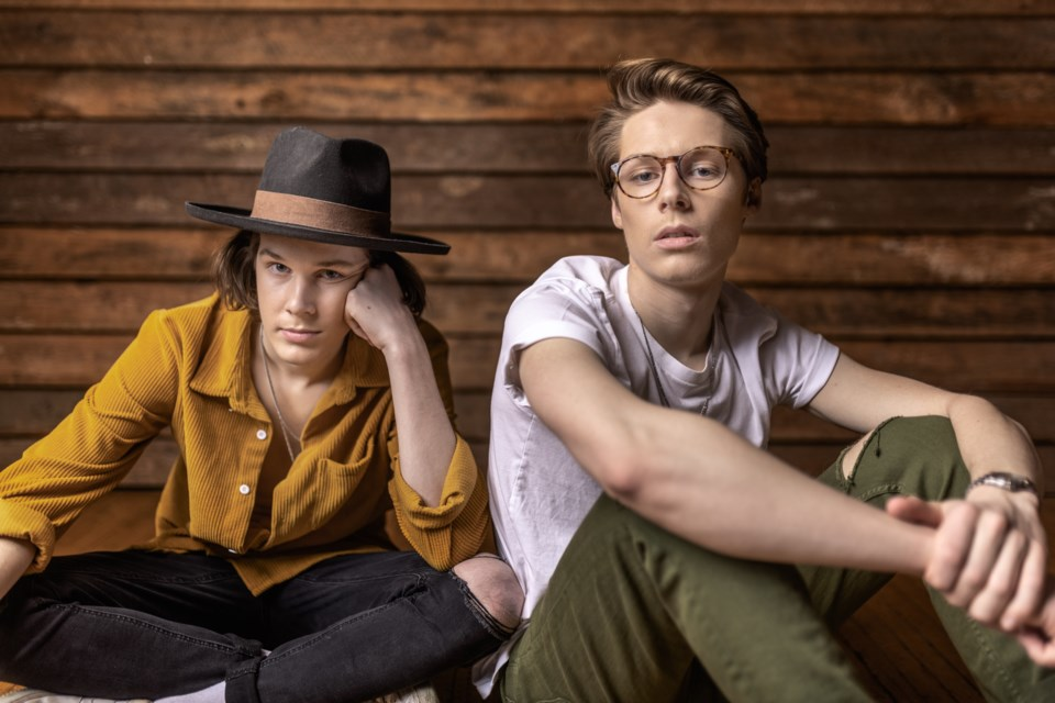 Thunder Bay pop duo the Lockyer Boys will release their debut album later this year. (Kirvan Photography)