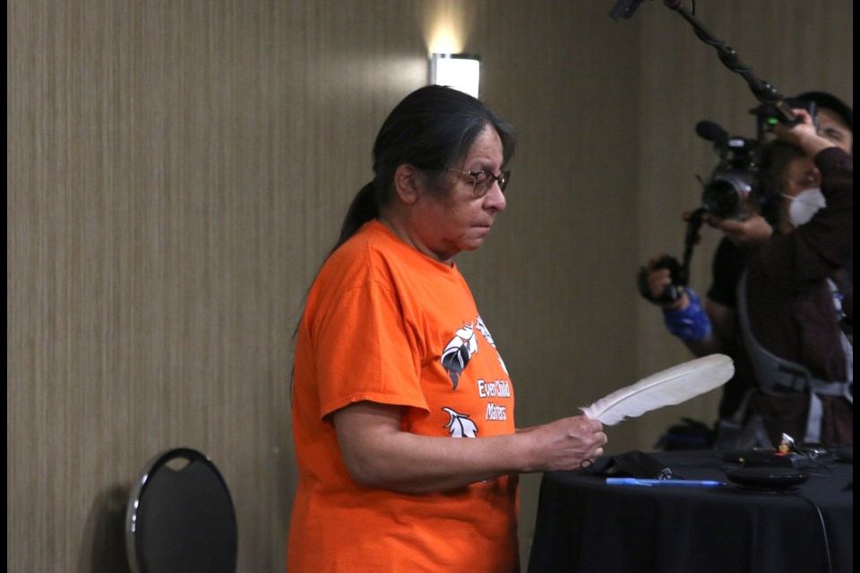Beulah Wabasse, who's grandson Jordan died while in Thunder Bay in 2011, said she is still waiting for answers on what happened to him. (Photos by Doug Diaczuk - Tbnewswatch.com).
