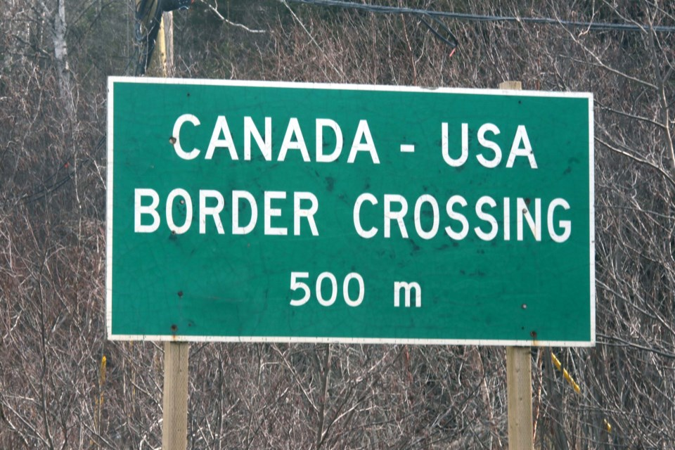 The Pigeon River Border Crossing has been closed since March 2020. (Leith Dunick, tbnewswatch.com)