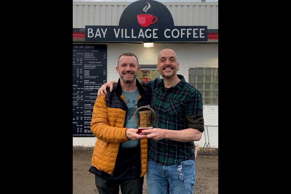 Bay Village Coffee 2021 respect award recipient. (Supplied photo)