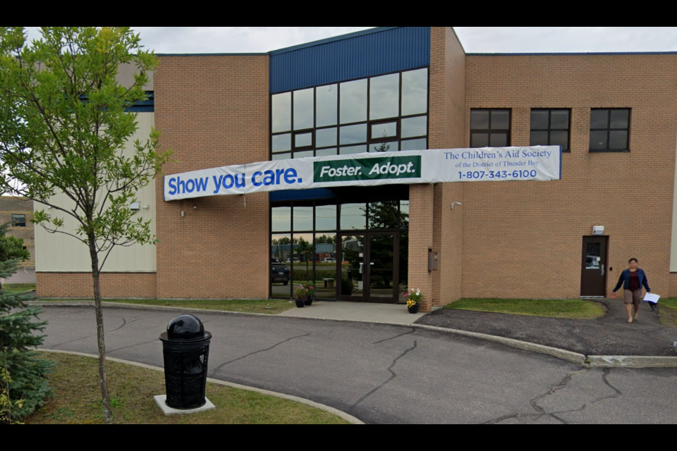 The Thunder Bay District Children's Aid Society is headquartered on Jade Court (Google street view)