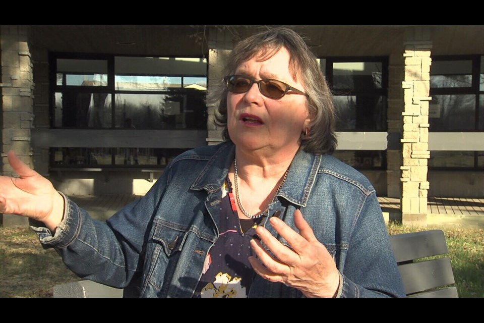 Penny Lucas is the mayor of Ignace, Ont. (TBTV news  photo)