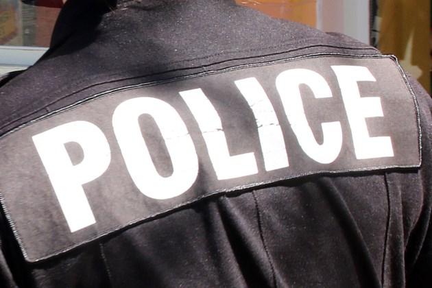 Police on uniform