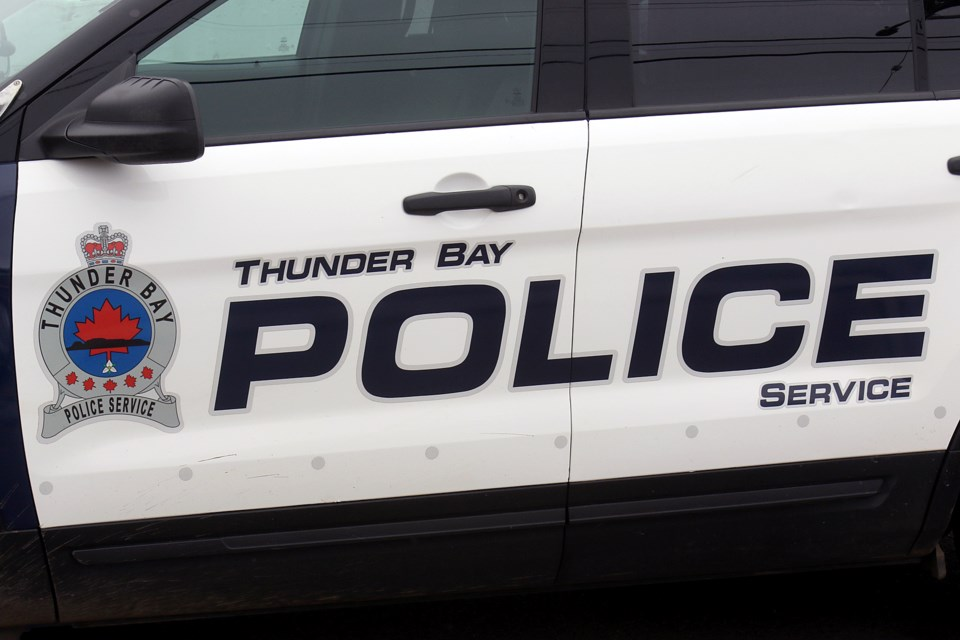 Thundder Bay Police Door