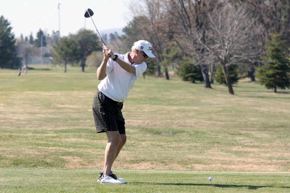 Golfers flocked to Chapples Golf Course on Friday, May 22, opening day at the city-owned track. (Leith Dunick, tbnewswatch.com)