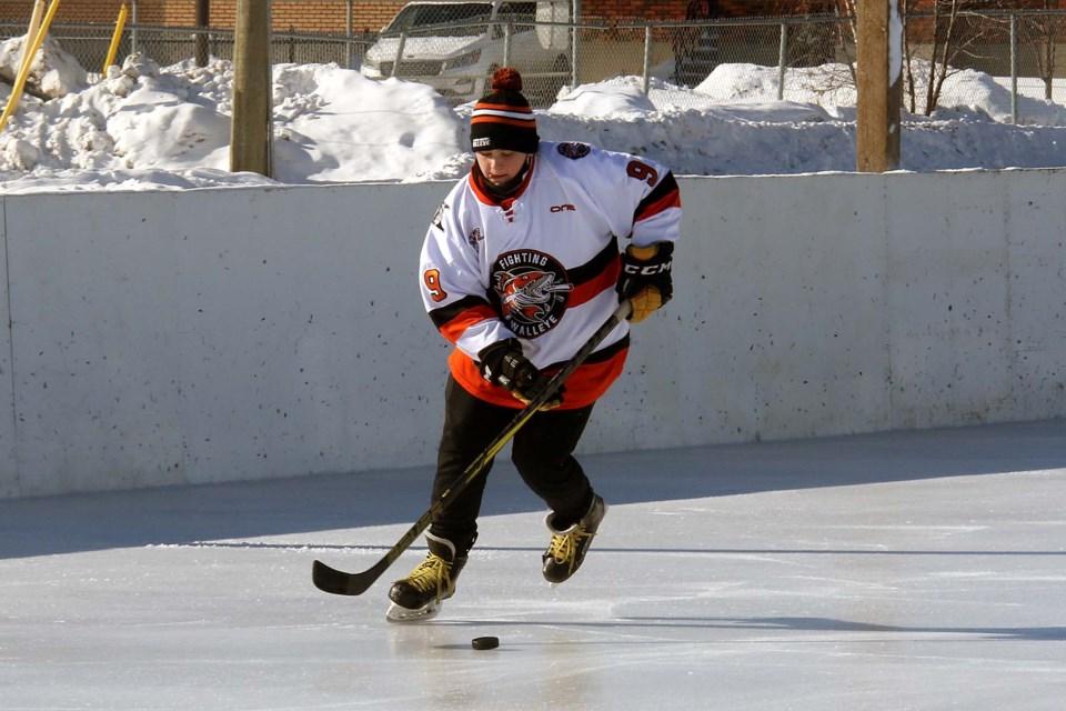 Kraft Hockeyville FIghting Walleye