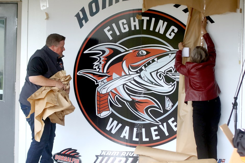 Kam River Fighting Walleye Norwest Arena