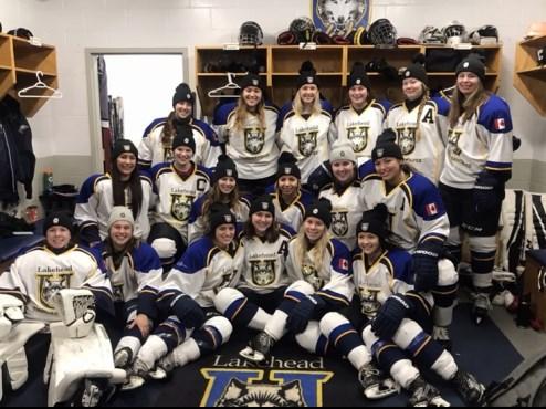Thunderwolves Women's Hockey 2019-20