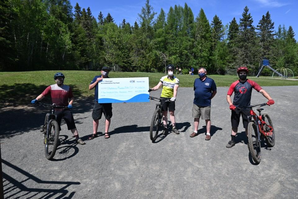 Bike trail donation