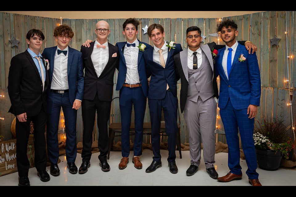 R.D. Parker Collegiate Class of 2021 grads finally got to end high school in style when their belated prom was held Aug. 7.