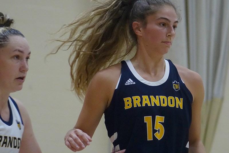 adrianna proulx brandon university womens basketball rdpc thompson sept 25 2021