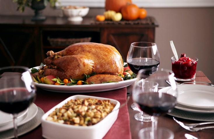 turkey thanksgiving dinner