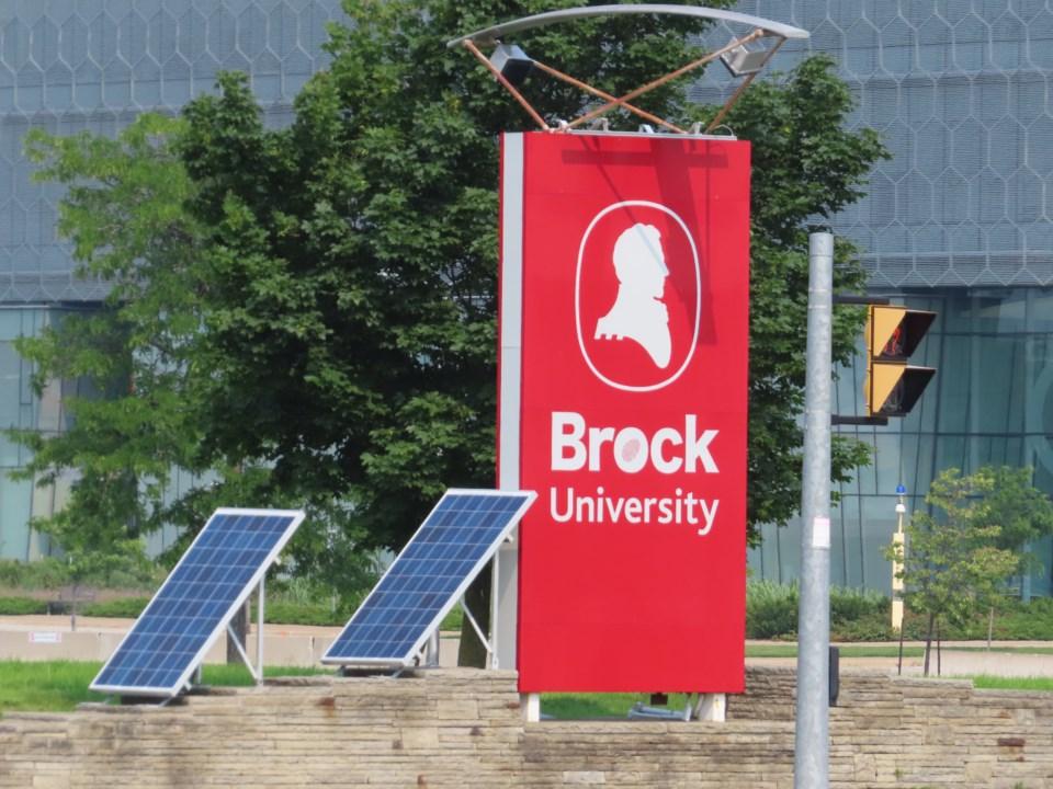 brock university stock