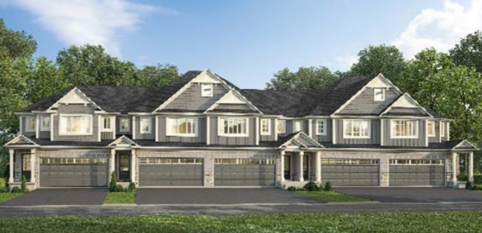 Council fears a lot coverage increase will lead to more renters in the already dense area. Shown here is an example of the houses that the developer is planning. Photo: Presentation to City of Thorold