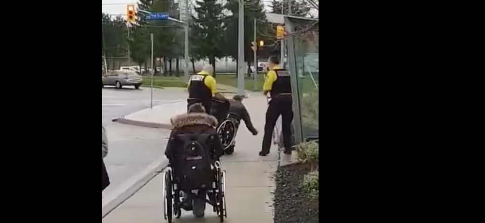 st catharines wheelchair tipping
