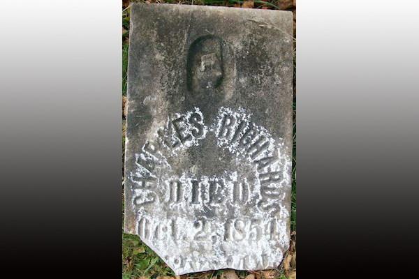 2019-02-07 Charles Richards gravestone