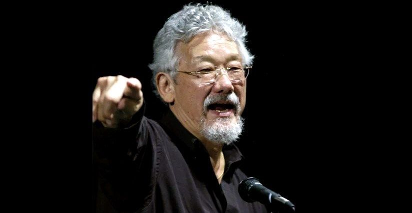 In 2005 David Suzuki appeared in St. Catharines urging media to pay more attention to the environment than entertainment fluff. Bob Liddycoat /Thorold News