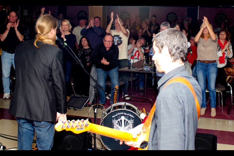 Standing ovations are nothing new to the Ghost Town Blues Band. Bob Liddycoat / Thorold News