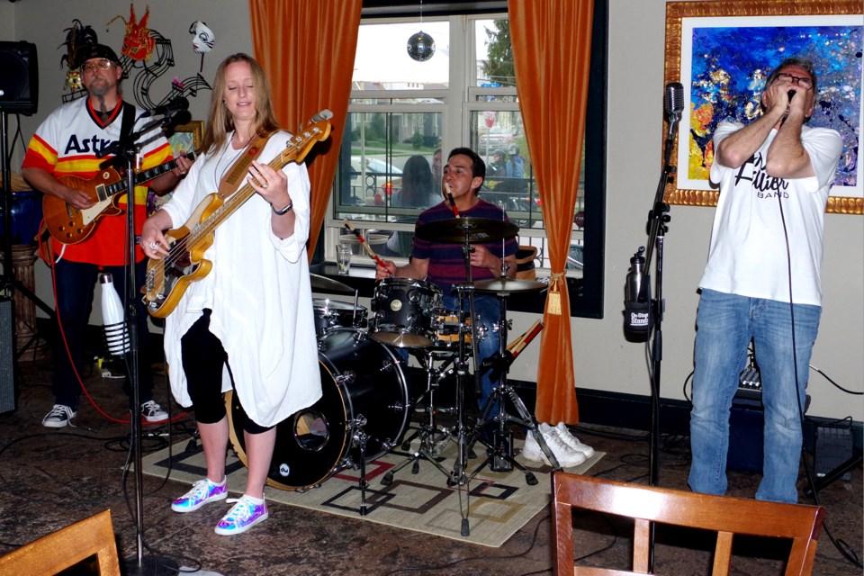 The Max Hillier Band. Bob Liddycoat/ Thorold News