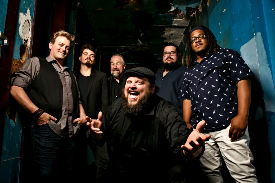Grammy-nominated Victor Wainwright and the Train. Submitted Photo
