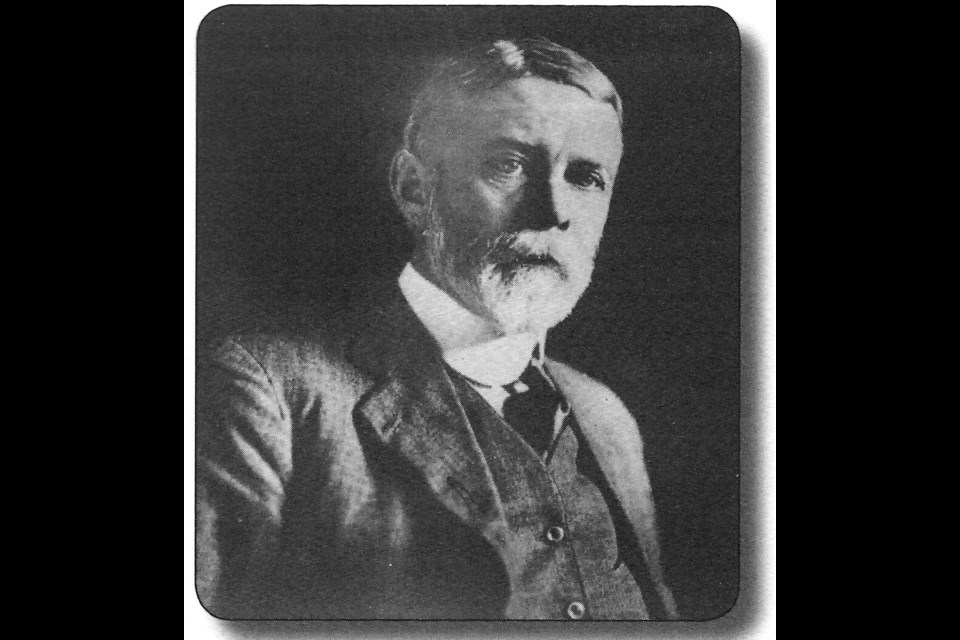 Alexander Grant, Engineer in charge of building the fourth Welland Ship Canal 1919-1932 (St. Lawrence Seaway Management Corporation).