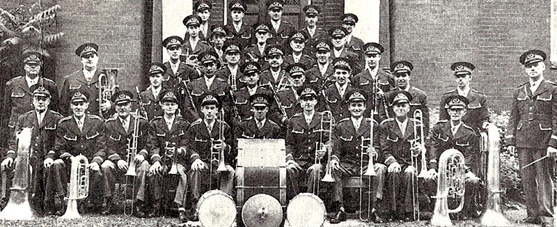 The Thorold Reed Band in the early years. Archive Photo