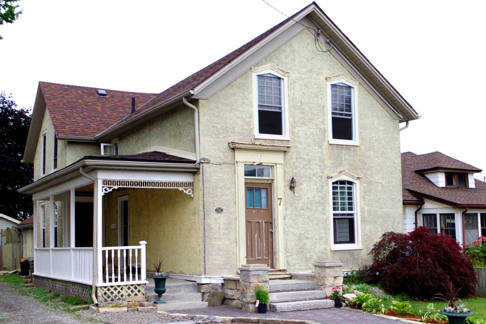 Built in 1856, the Grenville Heritage Home is getting a makeover from its new owner. Bob Liddycoat / Thorold News