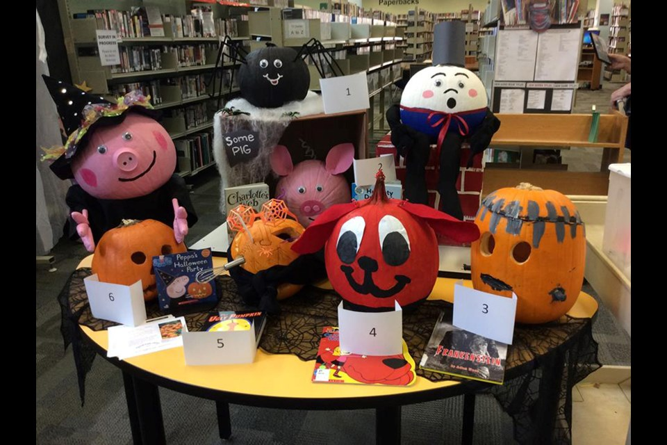 Past pumpkin contest entries. Rebecca Lazarenko / Thorold News