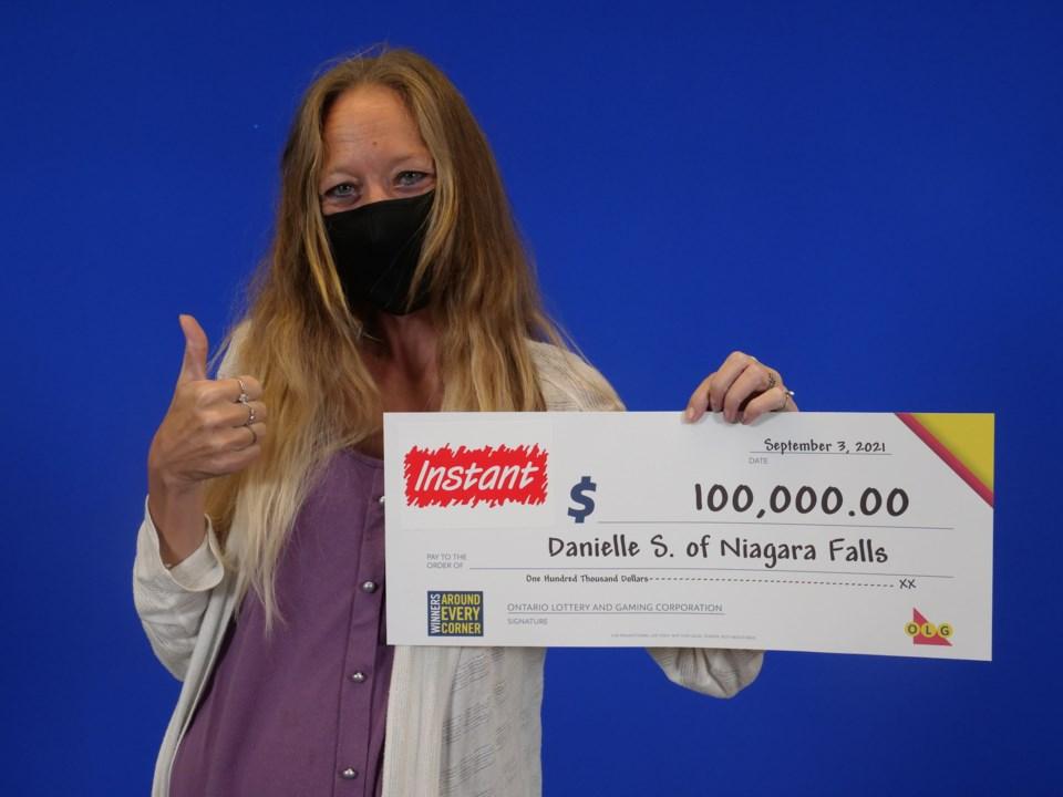 2021-09-13 OLG winner Danielle Spinks