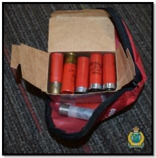 Ammunition seized. Photo supplied by Niagara Regional Police