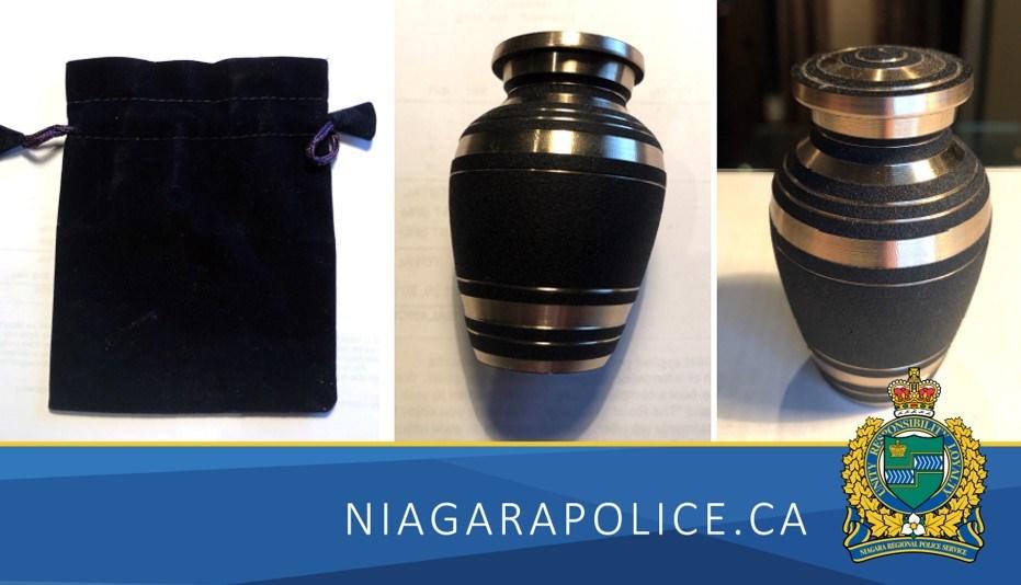 2021-07-21 Purse, urn theft NRPS