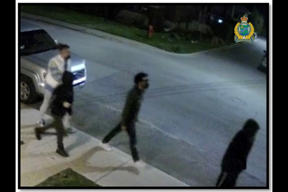 Police hope to identify suspects involved in an armed robbery that took place in Niagara Falls on Thursday, May 13, 2021