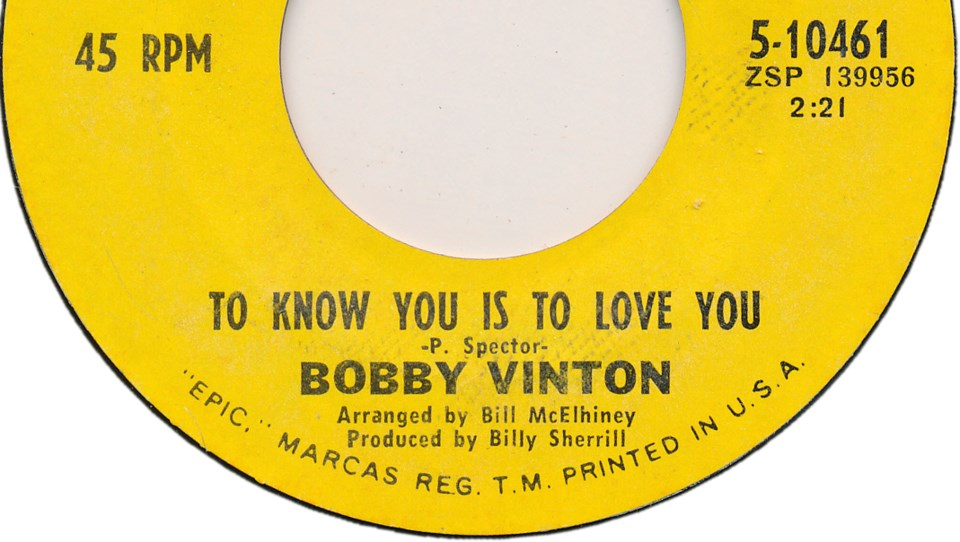 bobby-vinton-record