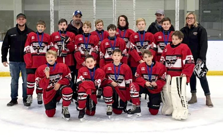 Thorold Newman Electric Peewees