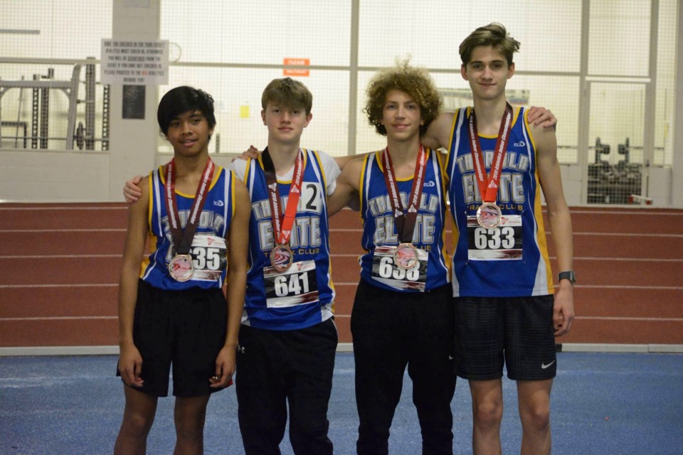 4X800 Relay Team. Submitted photo