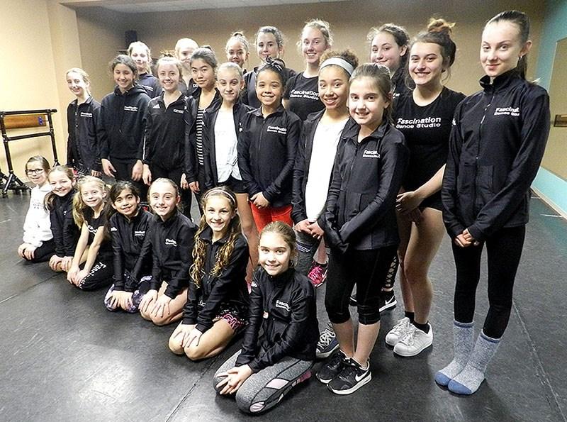 Thorold Fascination Dance Studio headed for Mini-Pops fame.