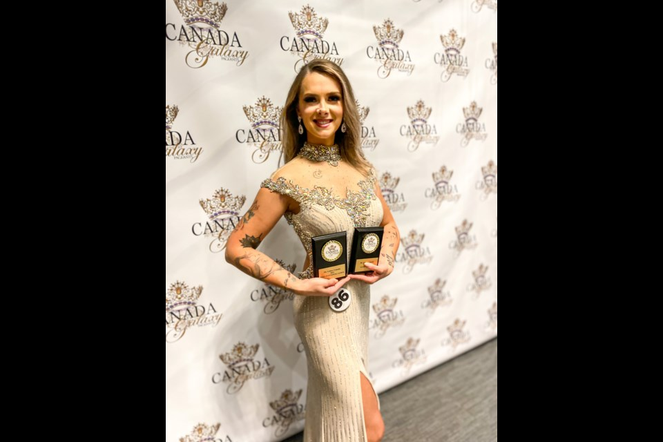 Timmins resident Natalie Levesque earned fourth place in the Ms. Galaxy Canada pageant.