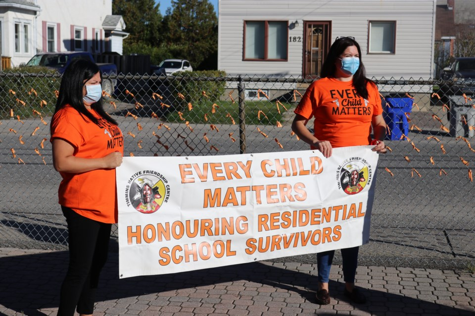 The Timmins Native Friendship Centre will be holding an annual Orange Shirt Day walk on Thursday, Sept. 30.