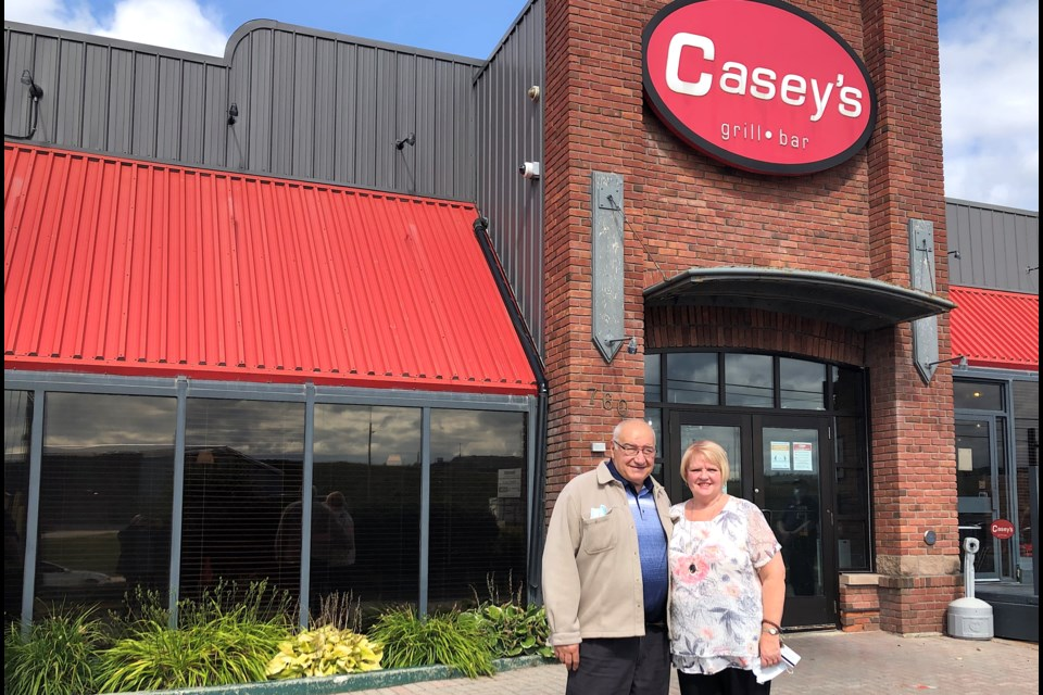 Come February, Brian and Sylvia Reid will have owned and operated Casey's in Timmins for 38 years.