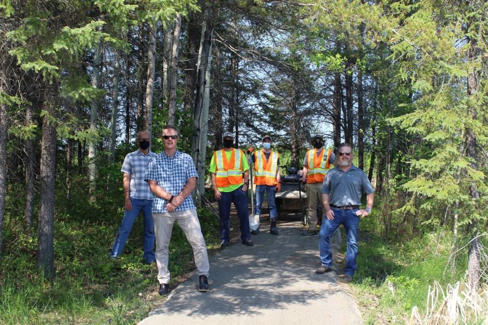 2021-06-08 MRCA Lake Shore Gold Donation SUP