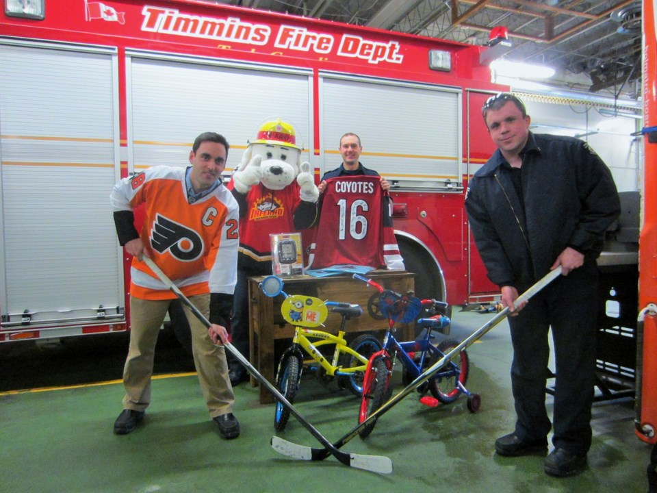Fireman Hockey