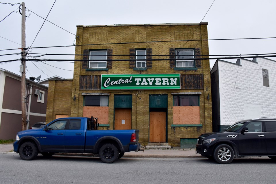 The Central Tavern on Bruce Street in South Porcupine.  Maija Hoggett/TimminsToday