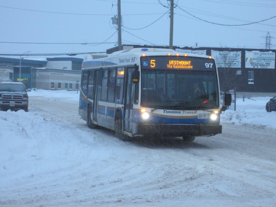 Transit Bus Winter