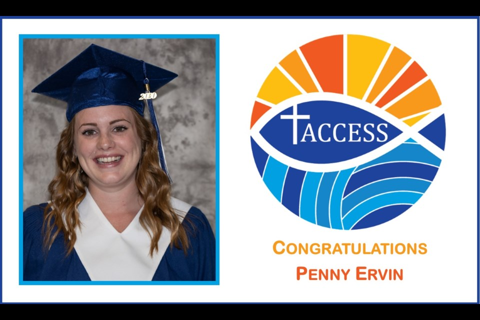 Penny Ervin won the 2020 Catholic Christian Values Award. Supplied image