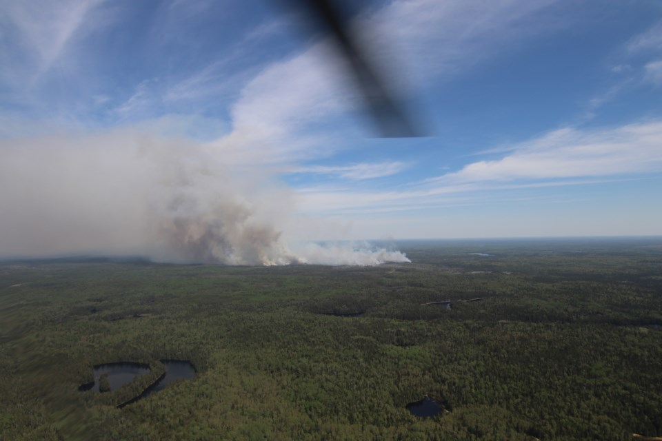 TIM 2 Aerial Over Fire, June 8, 2019 (51)