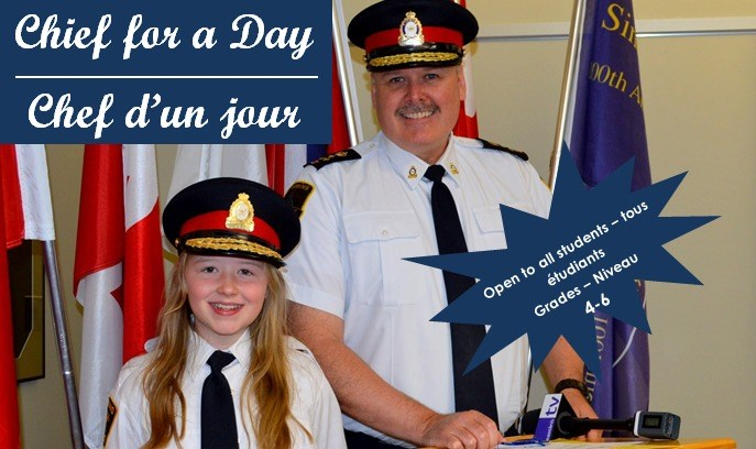 Chief for a Day poster