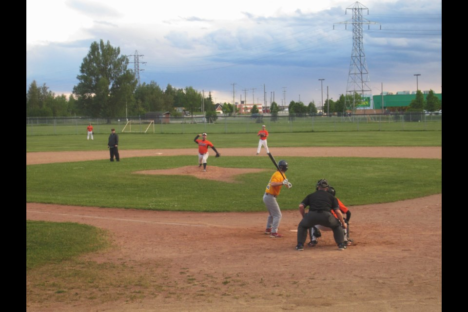 Members of the Timmins Men's Baseball League are still anxiously awaiting word on when, and if they can return to Fred Salvador Field. Andrew Autio for TimminsToday